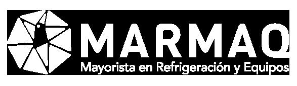 MARMAQ Mayorista en Refrigeración y Equipos logotipo bco - VITRINAS CARNICERAS