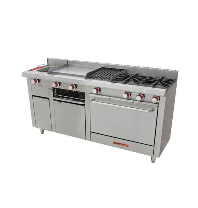 Equipo coccion industrial comercial guadalajara estufas - Cocción